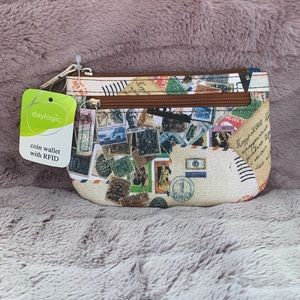 Travel Coin Wallet with RFID Protection